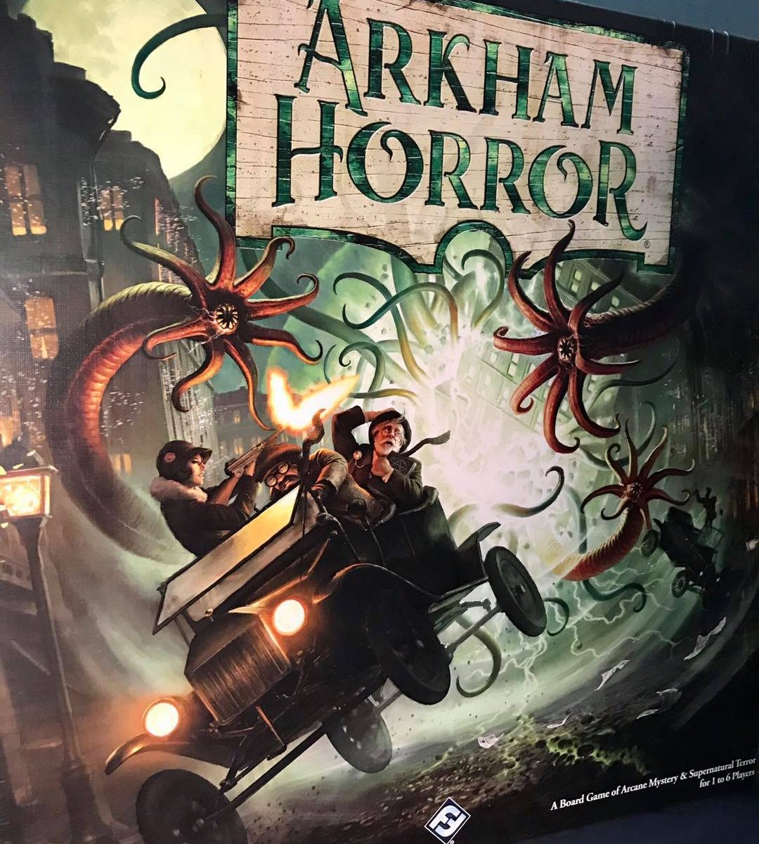 arkham horror board game review from battlehops brewing board game cafe in katy tx