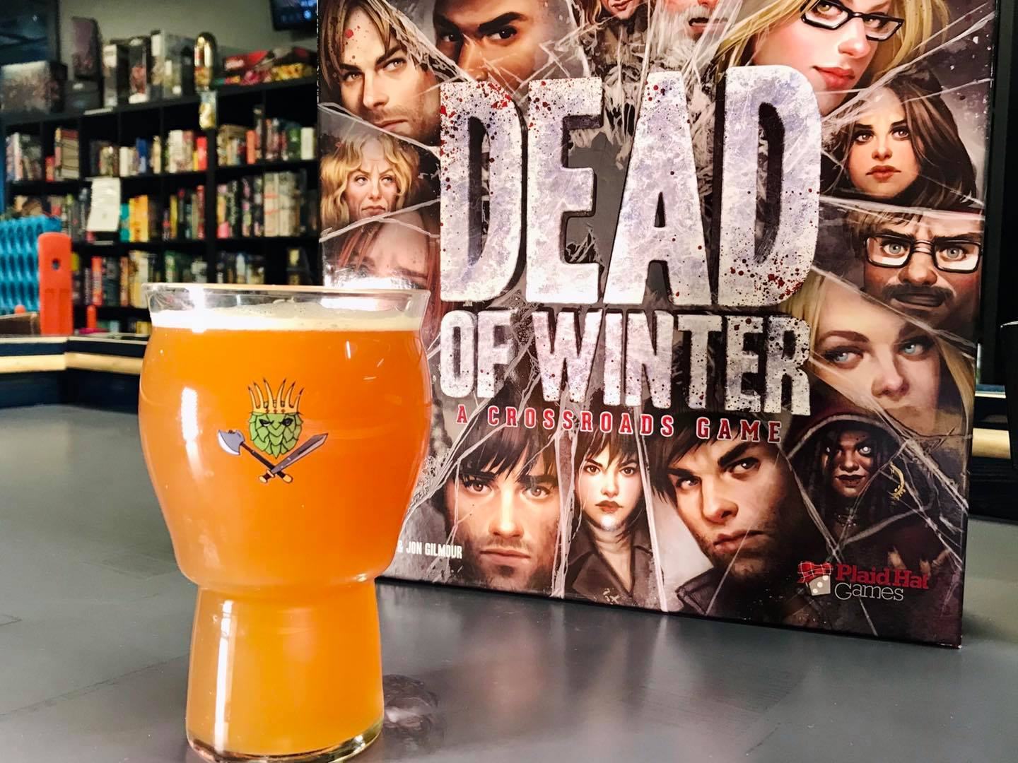 dead of winter board game review from battlehops brewing houston board game cafe and brewery
