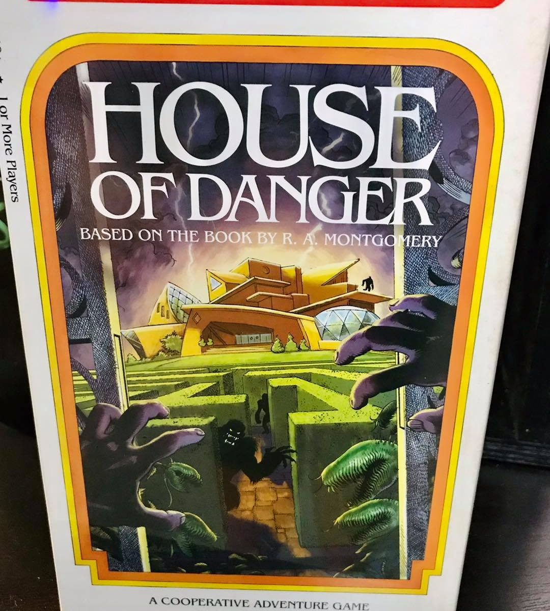 choose your own adventure game house of danger at battlehops brewing katy tx board game review