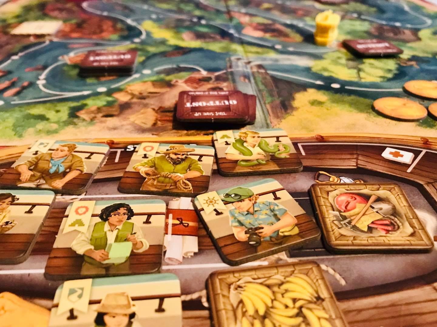 jungle cruise board game review from battlehops brewing board game cafe houston