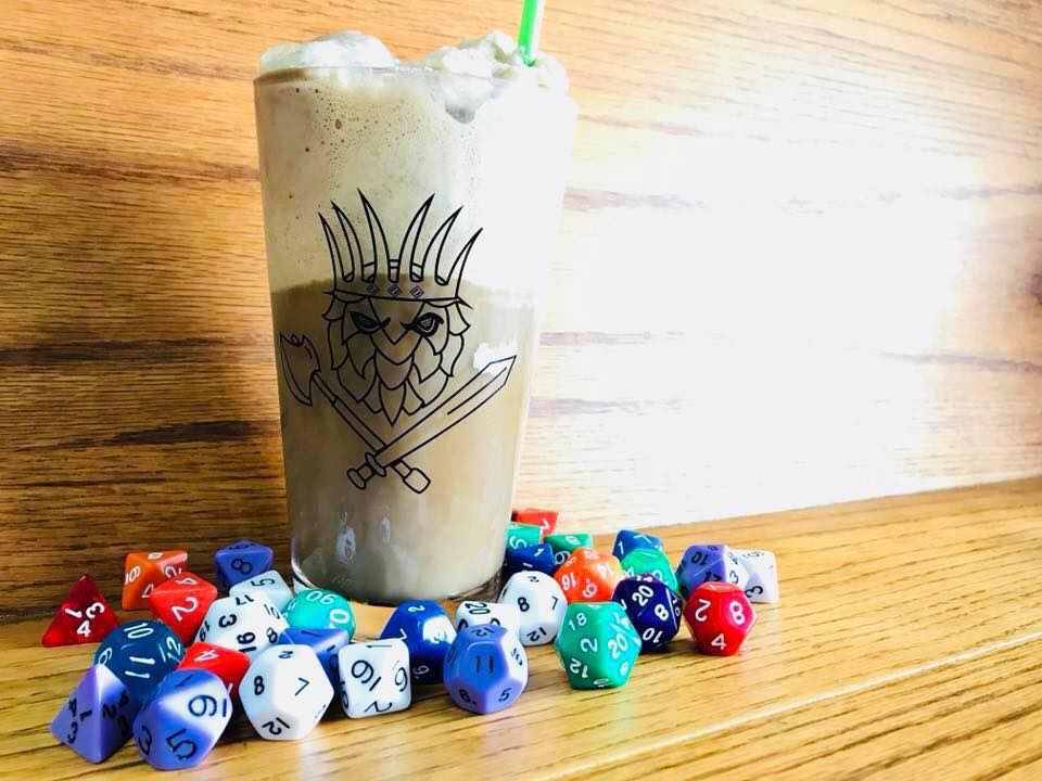 root beer float katy tx from battlehops brewing board game cafe